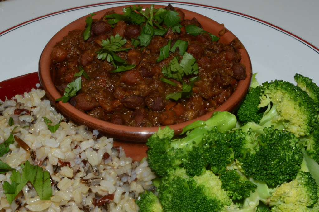 Black Chickpea Curry from The Indian Slow Cooker