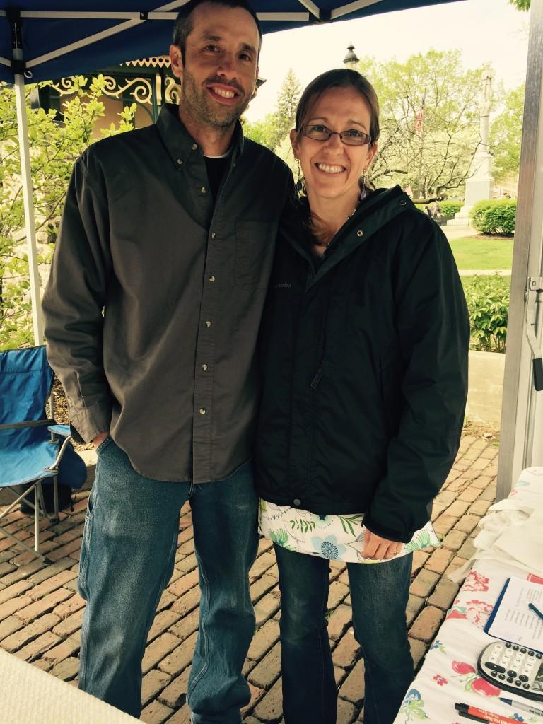 Bryce & Jen Riemer of Riemer Family Farm.