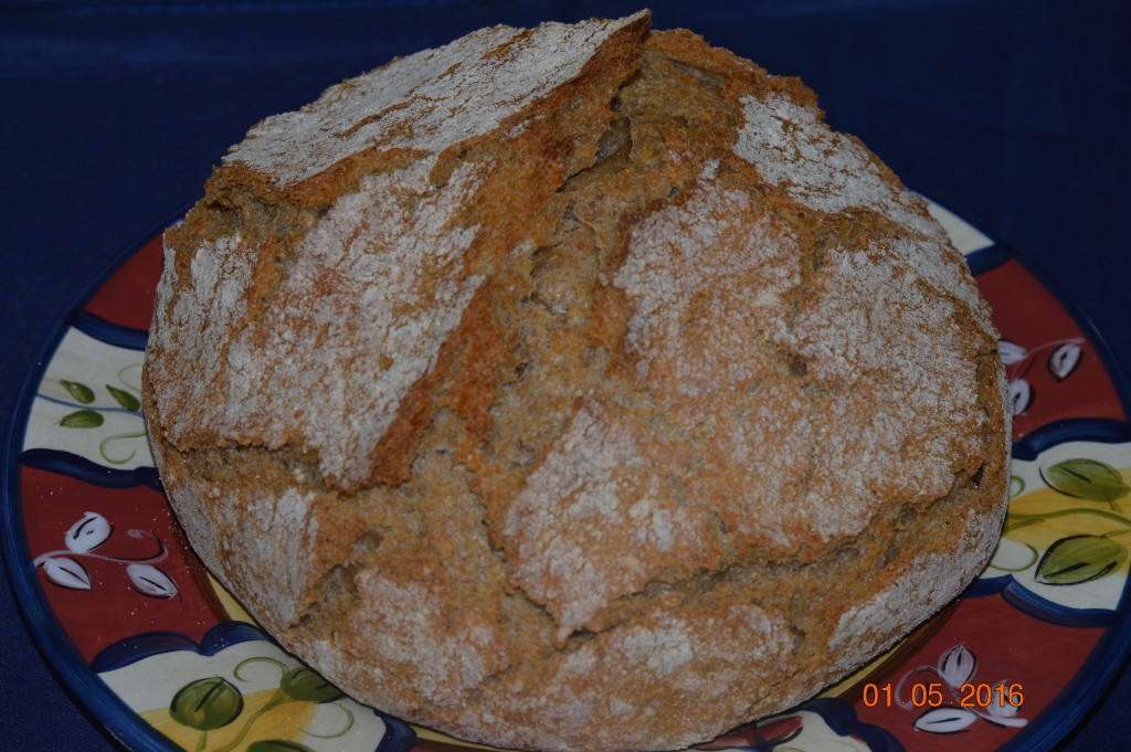 Whole wheat Ciabatta!